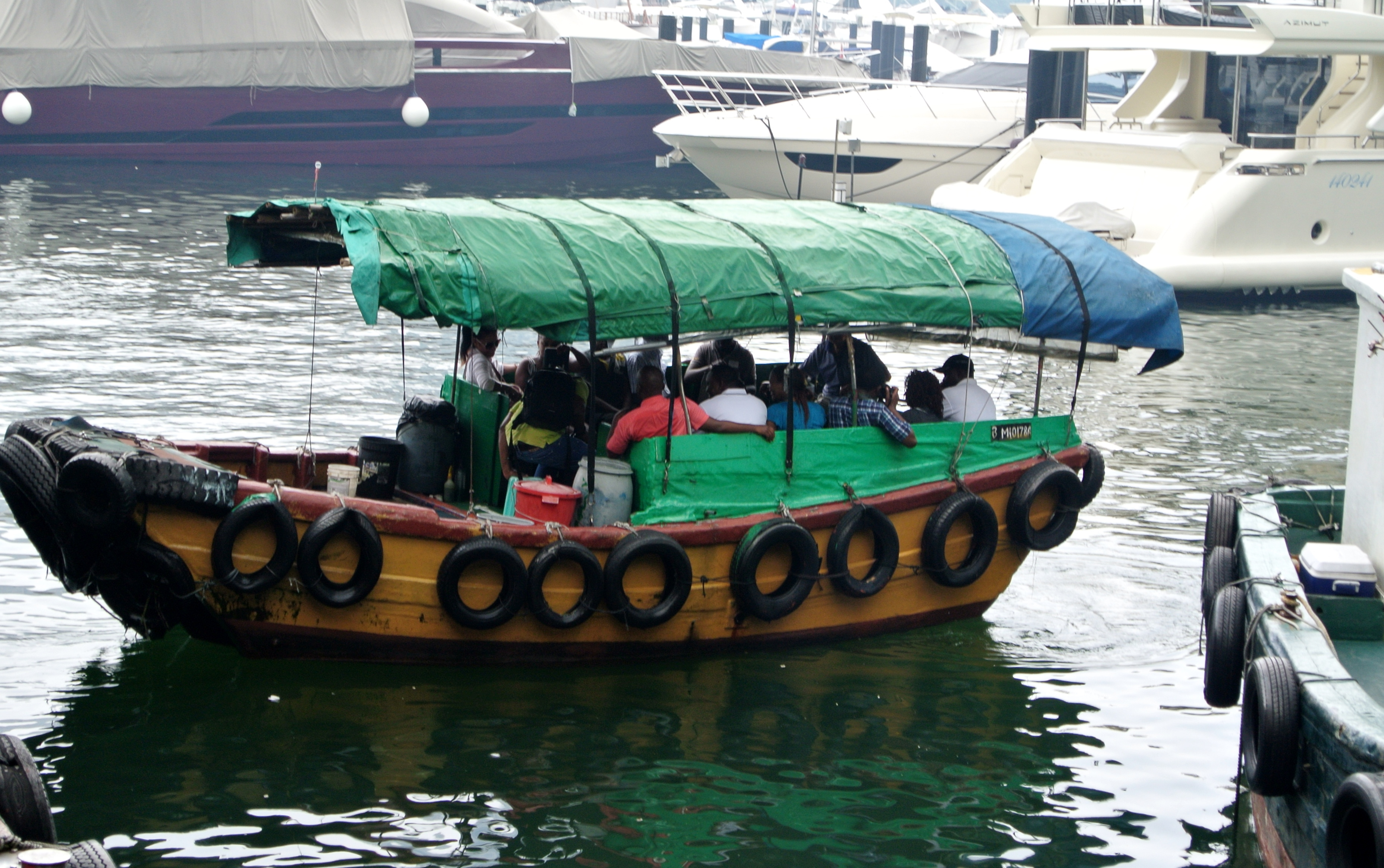 bateau de peche chinois