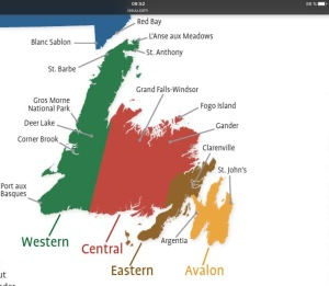 Région de Terre-Neuve
